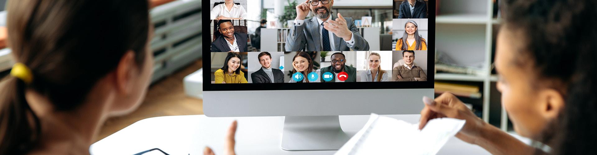 Infolge der Coronakrise hat der Trend zu virtueller Teamzusammenarbeit zugenommen: Tipps, wie virtuelle oder hybride Teamführung gelingen kann.
